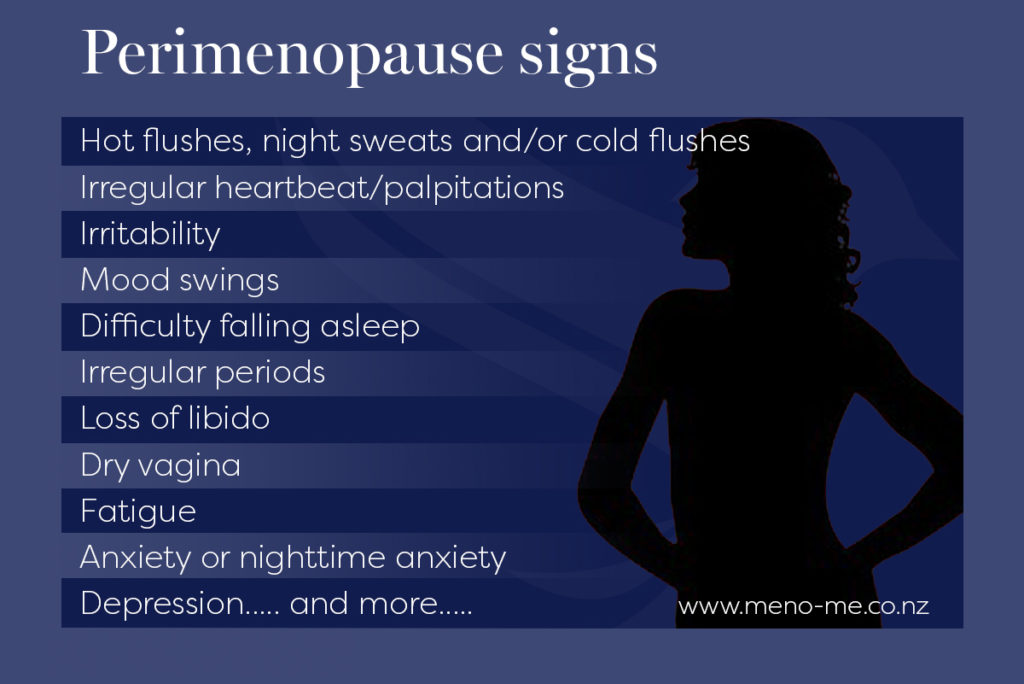 33 perimenopause signs