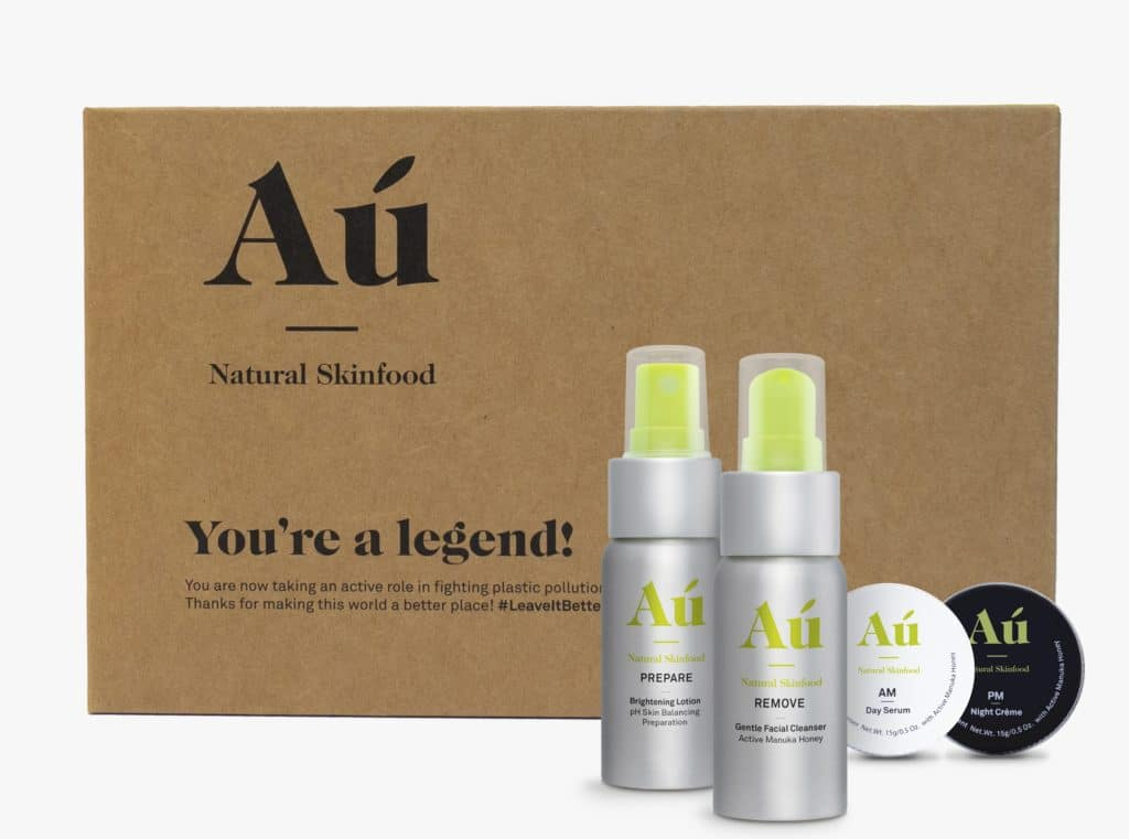 Au Natural Skinfood Discovery Kit with box